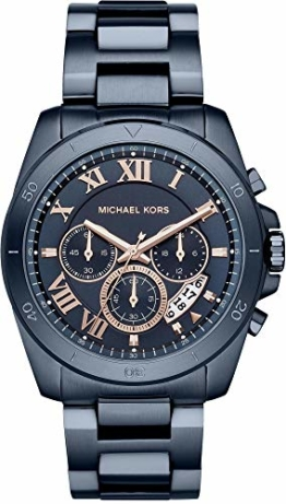 Michael Kors Herren Analog Quarz Uhr mit Edelstahl Armband MK8610 - 1