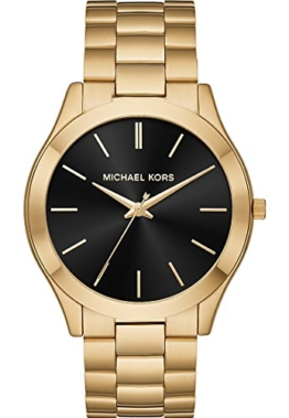 Michael Kors Herren Analog Quarz Uhr mit Edelstahl Armband MK8621 - 1