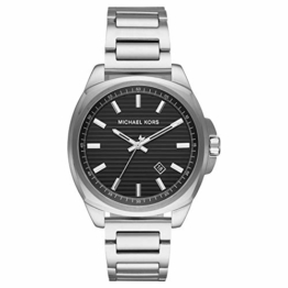 Michael Kors Herren Analog Quarz Uhr mit Edelstahl Armband MK8633 - 1