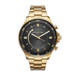 Michael Kors Herren Analog Quarz Uhr mit Edelstahl Armband MKT4014 - 1