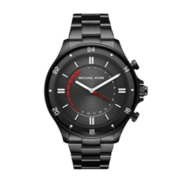 Michael Kors Herren Analog Quarz Uhr mit Edelstahl Armband MKT4015 - 1