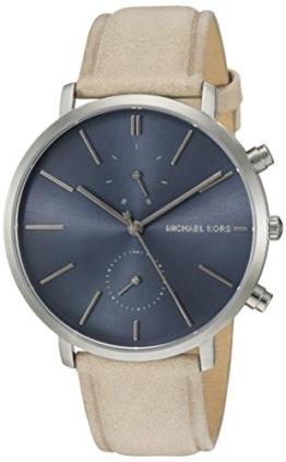 Michael Kors Herren Analog Quarz Uhr mit Leder Armband MK8540 - 1