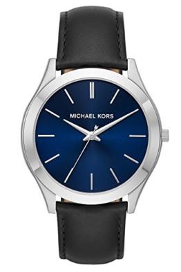 Michael Kors Herren Analog Quarz Uhr mit Leder Armband MK8620 - 1