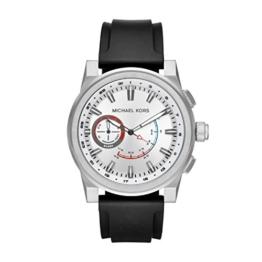 Michael Kors Herren Analog Quarz Uhr mit Silikon Armband MKT4009 - 1