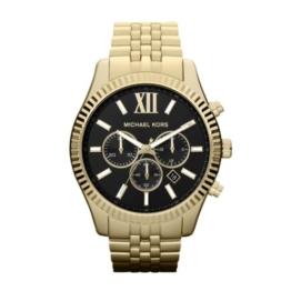 Michael Kors Herren Chronograph Quarz Uhr mit Edelstahl Armband MK8286 - 1
