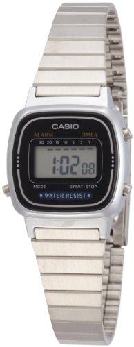 Uhr Cronometro Digital Frau Typ Retro Gurt/Armis aus Edelstahl c0044 - 1