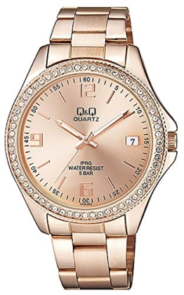 Citizen Damen Analog Quarz Uhr mit Edelstahl Armband CA06J802Y - 1