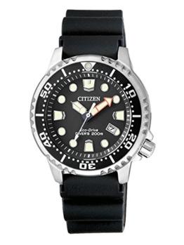 Citizen Damen Analog Quarz Uhr mit Plastik Armband EP6050-17E - 1
