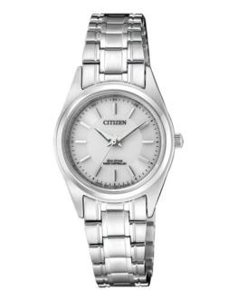 Citizen Damen Analog Solar Uhr mit Edelstahl Armband ES4030-84A - 1