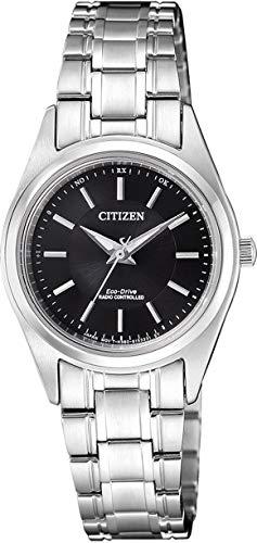 Citizen Damen Analog Solar Uhr mit Edelstahl Armband ES4030-84E - 1