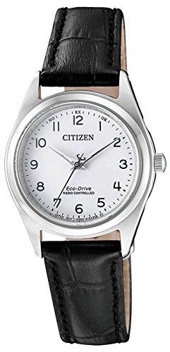Citizen Damen Analog Solar Uhr mit Leder Armband ES4030-17A - 1