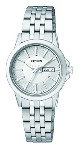 Citizen Damen-Armbanduhr Analog Quarz Edelstahl EQ0601-54AE - 1