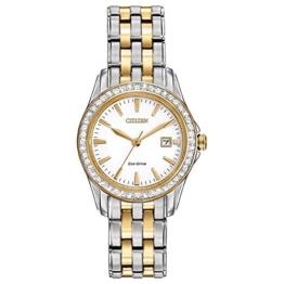 Citizen Damen-Armbanduhr Analog Quarz Edelstahl EW1908-59A - 1