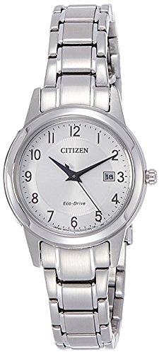 Citizen Damen-Armbanduhr Analog Quarz Edelstahl FE1081-59B - 1
