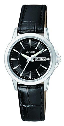 Citizen Damen-Armbanduhr Analog Quarz Leder EQ0601-03EE - 1