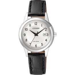 Citizen Damen-Armbanduhr Analog Quarz Leder FE1081-08A - 1
