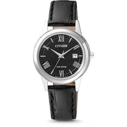 Citizen Damen-Armbanduhr Analog Quarz Leder FE1081-08E - 1