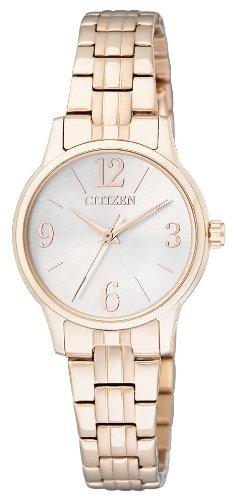 Citizen Damen-Armbanduhr XS Analog Quarz Edelstahl beschichtet EX0293-51A - 1