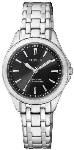 Citizen Damen-Armbanduhr XS Analog Quarz Edelstahl ES4020-53E - 1