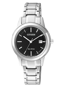Citizen Damen-Armbanduhr XS Analog Quarz Edelstahl FE1081-59E - 1