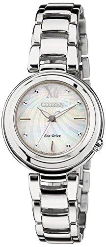 Citizen Damen-Armbanduhr XS Citizen L Analog Quarz Edelstahl EM0331-52D - 1