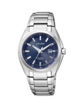Citizen Damen-Armbanduhr XS Super Titanium Analog Quarz Titan EW2210-53L - 1