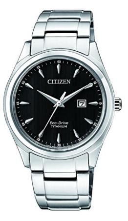 Citizen Damen Datum klassisch Solar Uhr mit Titan Armband EW2470-87E - 1
