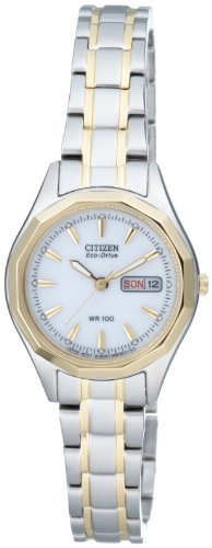 Citizen Eco-Drive Damenuhr EW3144-51AE - 1