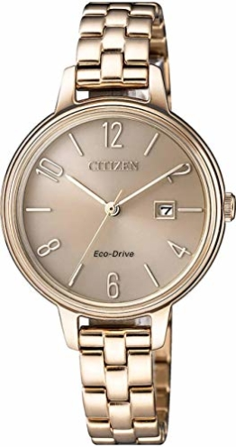 Citizen EW2443-80X Eco-Drive Damenuhr 31mm 5ATM - 1