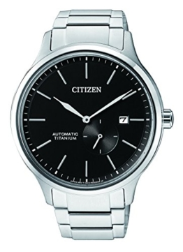 Citizen Herren Analog Mechanik Uhr mit Titan Armband NJ0090-81E - 1
