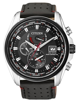 Citizen Herren Analog Quarz Uhr mit Edelstahl Armband AT9036-08E - 1