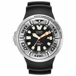 Citizen Herren Analog Quarz Uhr mit Gummi Armband BJ8050-08E - 1