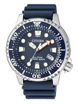 Citizen Herren Analog Quarz Uhr mit Plastik Armband BN0151-17L - 1