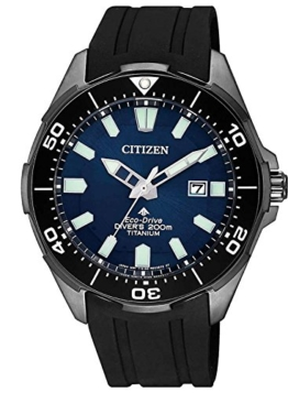 Citizen Herren Analog Quarz Uhr mit Plastik Armband BN0205-10L - 1
