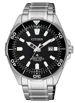 Citizen Herren Analog Quarz Uhr mit Titan Armband BN0200-81E - 1