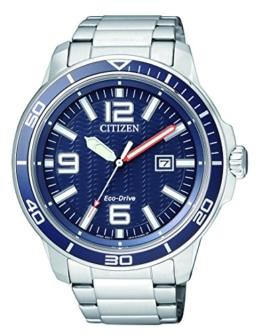 Citizen Herren-Armbanduhr Analog Quarz Edelstahl AW1520-51L - 1