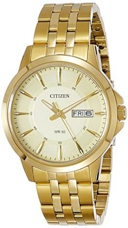 Citizen Herren-Armbanduhr Analog Quarz Edelstahl BF2013-56PE - 1
