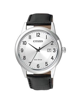 Citizen Herren-Armbanduhr Analog Quarz Leder AW1231-07A - 1