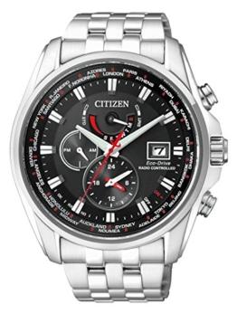 Citizen Herren-Armbanduhr AT9030-55E, silber/schwarz - 1