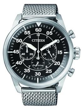 Citizen Herren-Armbanduhr Chronograph Quarz Edelstahl CA4210-59E - 1