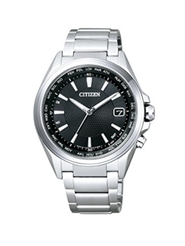 Citizen Herren-Armbanduhr Radio Controlled Analog Quarz Titan CB1070-56E - 1