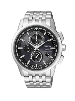 Citizen Herren-Armbanduhr Radio Controlled Chronograph Quarz Edelstahl AT8110-61E - 1