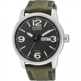 Citizen Herren-Armbanduhr XL Analog Quarz Nylon BM8470-11EE - 1