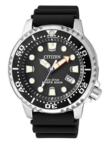 Citizen Herren-Armbanduhr XL Promaster Marine Analog Quarz Plastik BN0150-10E - 1