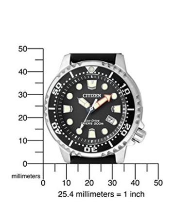 Citizen Herren-Armbanduhr XL Promaster Marine Analog Quarz Plastik BN0150-10E - 2