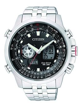 Citizen Herren-Armbanduhr XL Promaster Sky Analog - Digital Quarz Edelstahl JZ1060-50E - 1