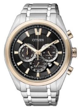 Citizen Herren-Armbanduhr XL Super Titanium Chronograph Quarz Titan CA4014-57E - 1