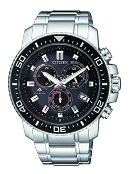 Citizen Herren Chronograph Quarz Uhr mit Edelstahl Armband AS4080-51E - 1
