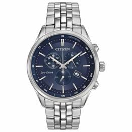 Citizen Herren Chronograph Quarz Uhr mit Edelstahl Armband AT2141-52L - 1