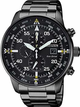 Citizen Herren Chronograph Quarz Uhr mit Edelstahl Armband CA0695-84E - 1